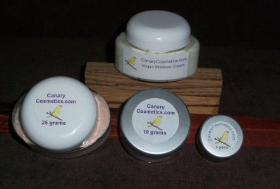 Canary Cosmetics Mineral Makeup products